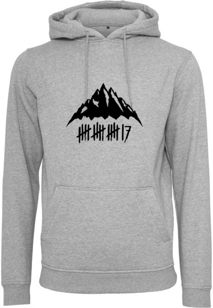 trick17 Mountain Hoodie, heather grey